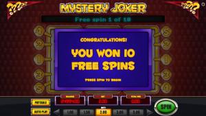 bonus Mystery Joker