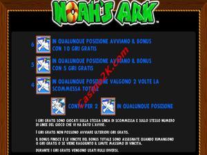 bonus Noah's Ark