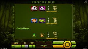 bonus Panda's Run