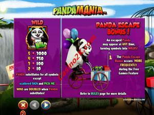 bonus Pandamania