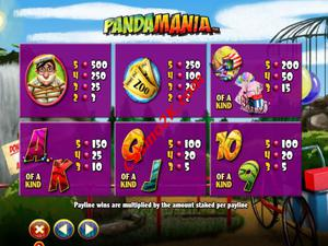 pagamenti Pandamania