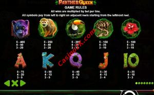 pagamenti Panther Queen