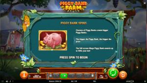 bonus Piggy Bank Farm