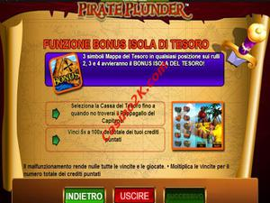 bonus Pirate Plunder