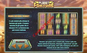 bonus Planet Fortune