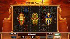 bonus Riches of Ra