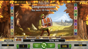 bonus Robin Hood