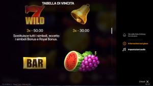 pagamenti Royal Coins: Hold and Win