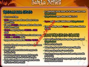 bonus Samba Nights