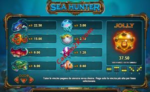 pagamenti Sea Hunter