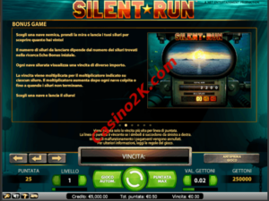 bonus Silent Run