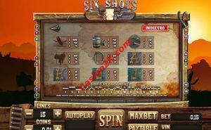 pagamenti Six Shots