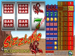 Sizzling Scorpions
