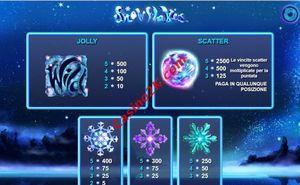 bonus Snowflakes