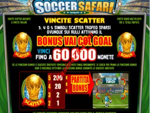 bonus Soccer Safari