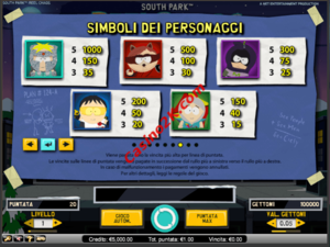 pagamenti South Park Reel Chaos