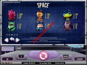 pagamenti Space Wars
