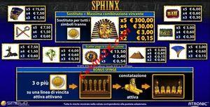pagamenti Sphinx