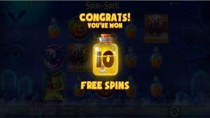 bonus Spin and Spell