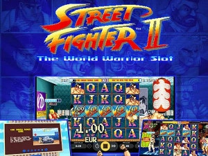 bonus Street Fighter II: The World Warrior Slot