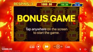 bonus Sunny Fruits: Hold and Win