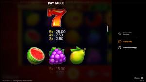 pagamenti Sunny Fruits: Hold and Win