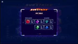 pagamenti Sunstrike