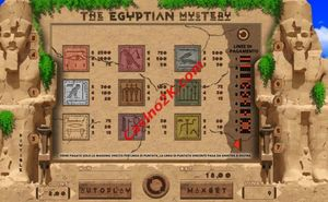 pagamenti The Egyptian Mystery