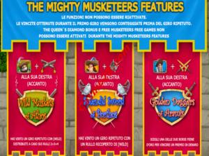 bonus The Three Musketeers