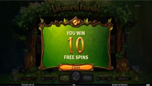 bonus Unicorn Forest