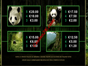 pagamenti Untamed - Giant Panda