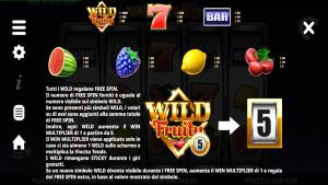 pagamenti Wild & Fruity