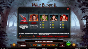 pagamenti Wild Blood 2