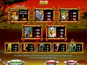 pagamenti Wild Gambler