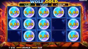 bonus Wolf gold