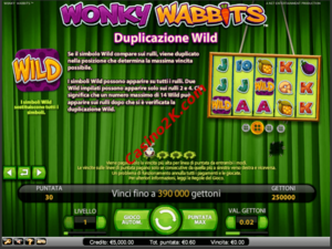 bonus Wonky Wabbits