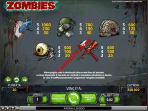 pagamenti Zombies